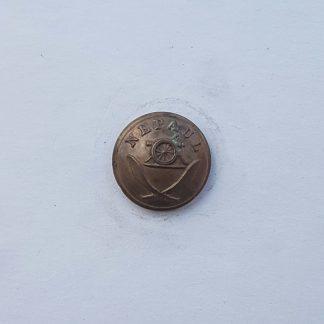 NEPAUL Artillery OR's Button