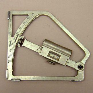 FRENCH QUADRANT-CLINOMETER Mod 1882-1900