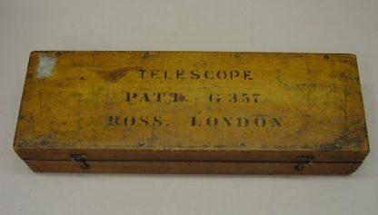 BRITISH ROSS LONDON TELESCOPE PATTERN G.357 case
