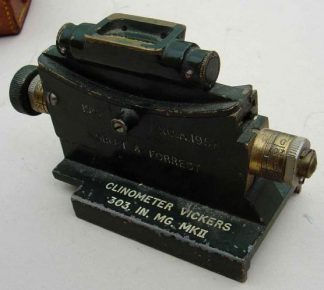CLINOMETER VICKERS .303 IN. MG MKII 1941 complete