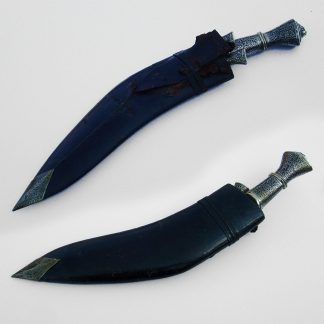 KUKRI KNIFE with highly elaborate Chased hilt