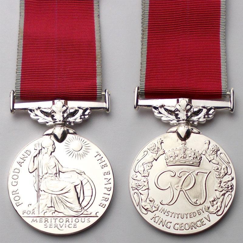 "BEM CIVILIAN RIBBON BRITISH EMPIRE MEDAL RIBBON 10/"" MINIATURE"