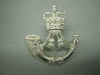 RIFLES - cap badge