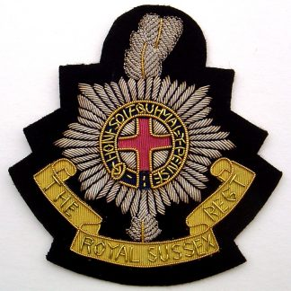 The Royal Sussex Regiment Blazer Badge