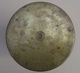 105MM M.14 TYPE 1, ERM 1944 fired brass case