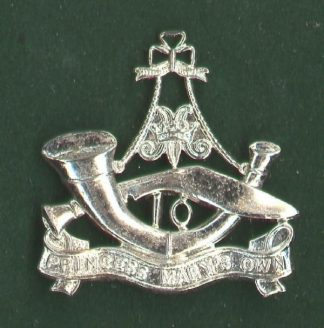 10 TH PRINCESS MARY'S GURKHA RIFLES silver plate
