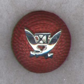 11 th GURKHA RIFLES Officer's 'Cherry' cap badge - India post 1947