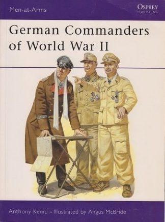 OSPREY BOOK  MAA.124. GERMAN COMMANDERS OF WORLD WAR II