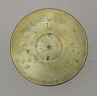 13 Pr.9 cwt  I, a/a fired brass case RL/P 1916
