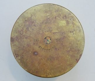 15 cm HOWITZER fired brass case