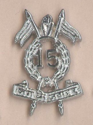 15th LANCERS - OR's cap badge