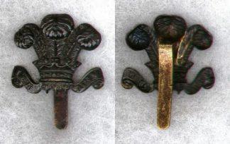15th BATTALION, COUNTY OF LONDON REGIMENT (CIVIL SERVICE RIFLES) cap badge, original