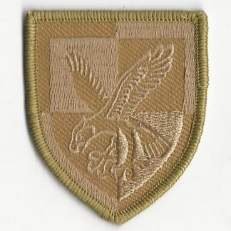 16 Air Assault Brigade patch, subdued desert