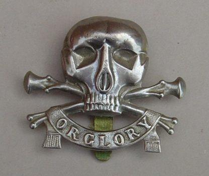 17th/21st LANCERS w/m cap badge