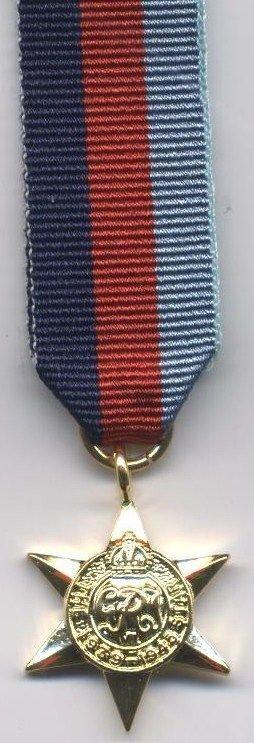 1939-45 STAR - miniature new