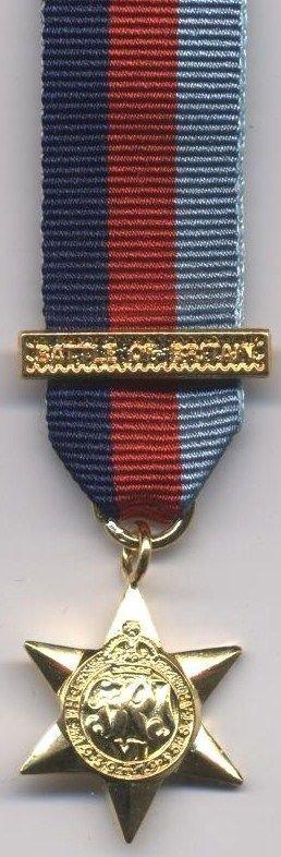1939-45 STAR - plus clasp BATTLE of BRITAIN new
