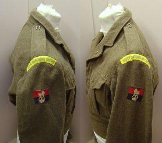 1949 Pattern Battledress Top, Badged.WOII A.C.C.