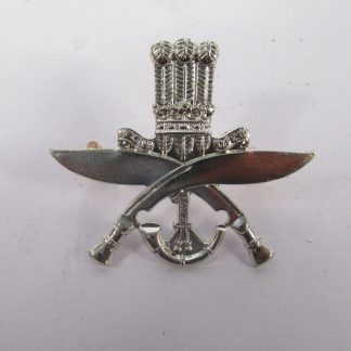 1 st KING GEORGE V's OWN GURKHA RIFLES - die-struck white metal re-strike