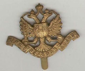1st KINGS DRAGOON GUARDS or's gm 1898-1915 pat.