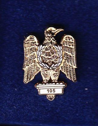 1st ROYAL DRAGOONS - LAPEL BADGE