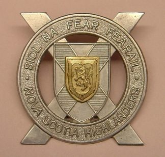 2nd Bn. NOVA SCOTIA HIGHLANDERS bi/m Glengarry bge