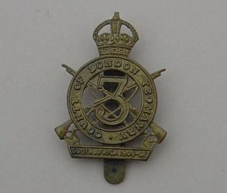 3rd COUNTY OF LONDON  YEOMANRY (SHARPSHOOTER) g/m
