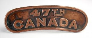 47th CANADA C.E.F. bz. Shoulder title