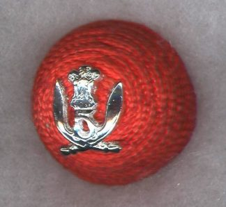 5th GURKHA RIFLES Officer's 'Cherry' cap badge - India post 1947