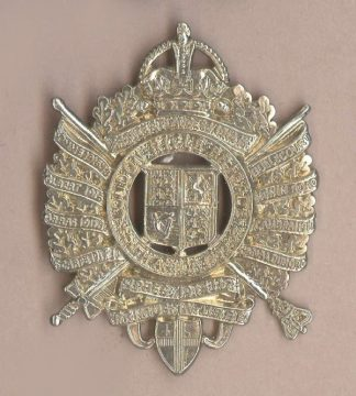 5th LONDON, CITY OF LONDON REGIMENT 1922-53 w/m