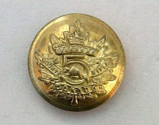 5th MOUNTED RIFLES OVERSEAS KC 20mm ORS g/m button