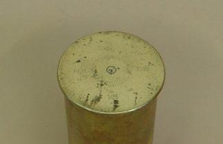 7.7 cm x 227mm FIELD GUN fired brass 'Sept. 1912 '