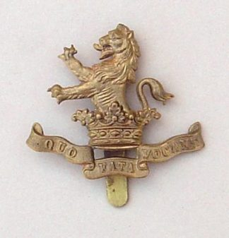 7th DRAGOON GUARDS - Gilding metal - post 1906 pat