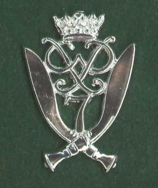 7 th DUKE OF EDINBURGH'S OWN GURKHA RIFLES - die-struck w/m  or's c/b