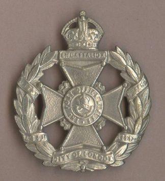 8th LONDON REGIMENT 'THE POST OFFICE RIFLES' KC wm