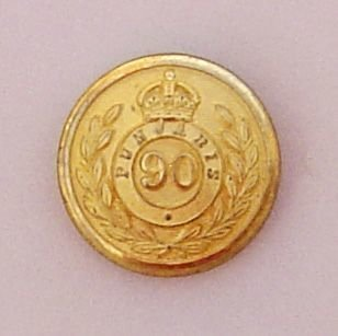 90th PUNJABIS KC 25mm matt gilt button highlights