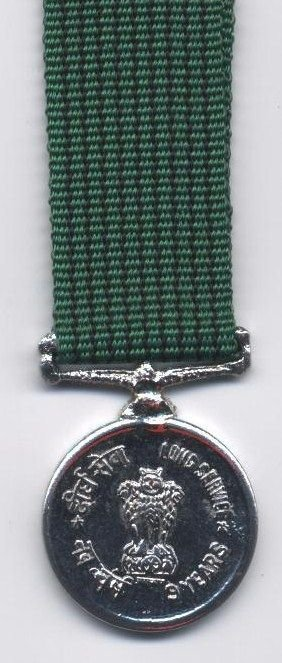 9 YEARS LONG SERVICE MEDAL1971