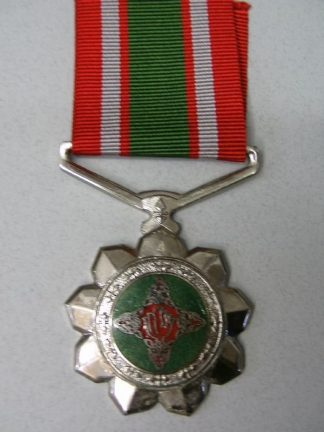 BOPHUTSWANA 20 YEAR  FAITHFUL SERVICE f/s medal