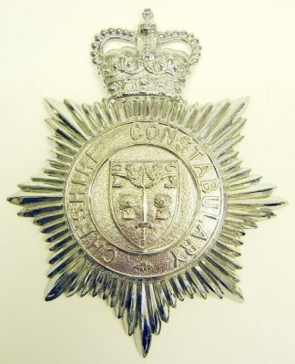 CHESHIRE CONSTABULARY QC Chrome HP