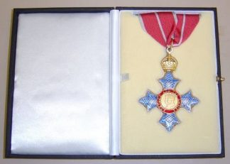 COMPANION OF THE BRITISH EMPIRE neck badge MILI