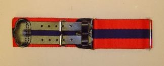 ADJUTANT GENERALS CORPS leather straps Stable Belt 50mm wide
