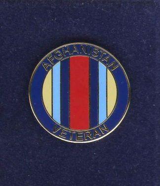 AFGHANISTAN VETERAN lapel badge