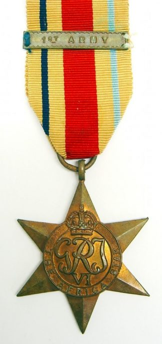 AFRICA STAR clasp '1st ARMY' full size original