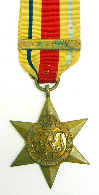 AFRICA STAR clasp '8th ARMY' full size original