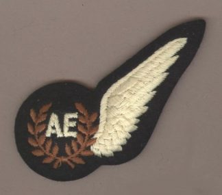 AIR ENGINEER HALF WING 'BREVET'machine embroidered