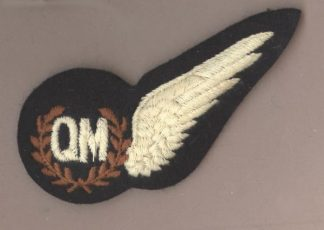 AIR QUARTERMASTER HALF WING machine embroidered