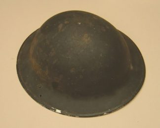 AIR RAID PRECAUTIONS BLACK PAINTED 'soup bowl' hel