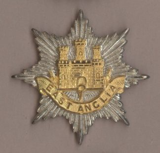 ANGLIAN BRIGADE OFFICERS Gilt/Sil.Pl. 1959-64