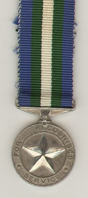 ARMED FORCES SERVICE STAR miniature