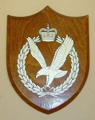 ARMY AIR CORPS QC wall plaque