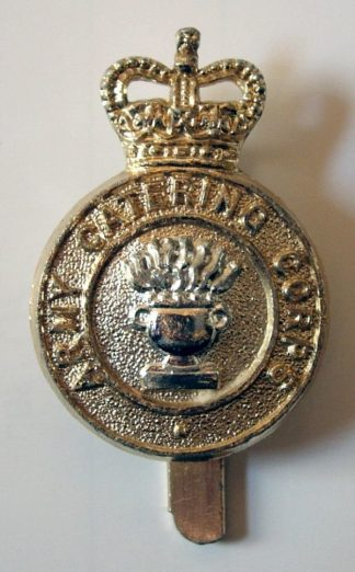 ARMY CATERING CORPS QC 1st type a/a Cap badge